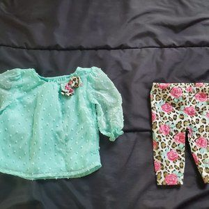 girl 0-3 month outfit